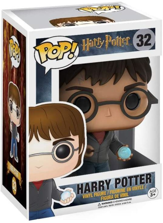 FUNKO ACTION FIGURES FUNKO POP HP: HARRY W/ PROPHECY
