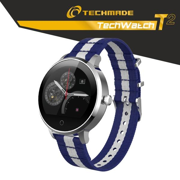 ASUS SMARTWATCH TECHMADE DISP 1.22 BLU&WHITE