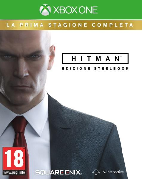 MICROSOFT GAME MICROSOFT XBOX ONE HITMAN LA PRIMA STAGIONE STEELBOOK EDITION