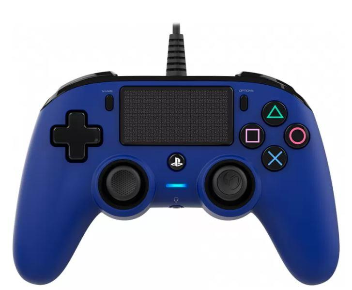 TECNO SHOP CONTROLLER NACON PER PS4 WIRED BLE LUMINOSO