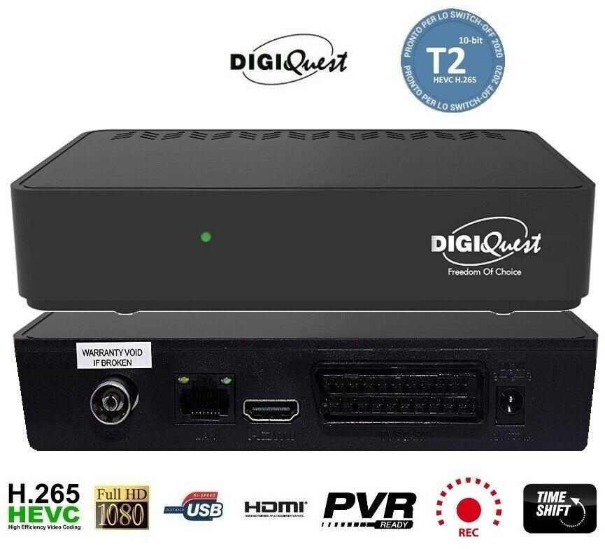 DIGIQUEST DECODER DIGITALE TERRESTRE T2 DIGIQUEST SH-3