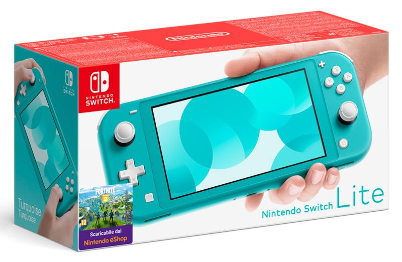 NINTENDO CONSOLE NINTENDO SWITCH LITE TURQUOISE