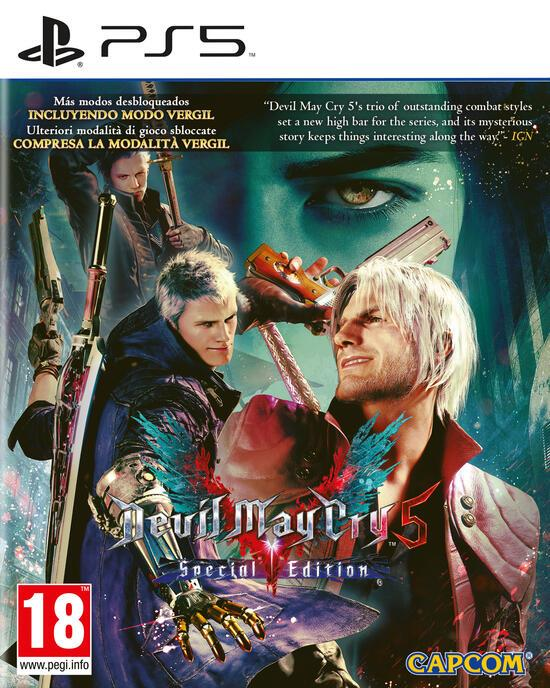 SONY GAME SONY PS5 DEVILMAY CRY 5 SPECIAL EDITION