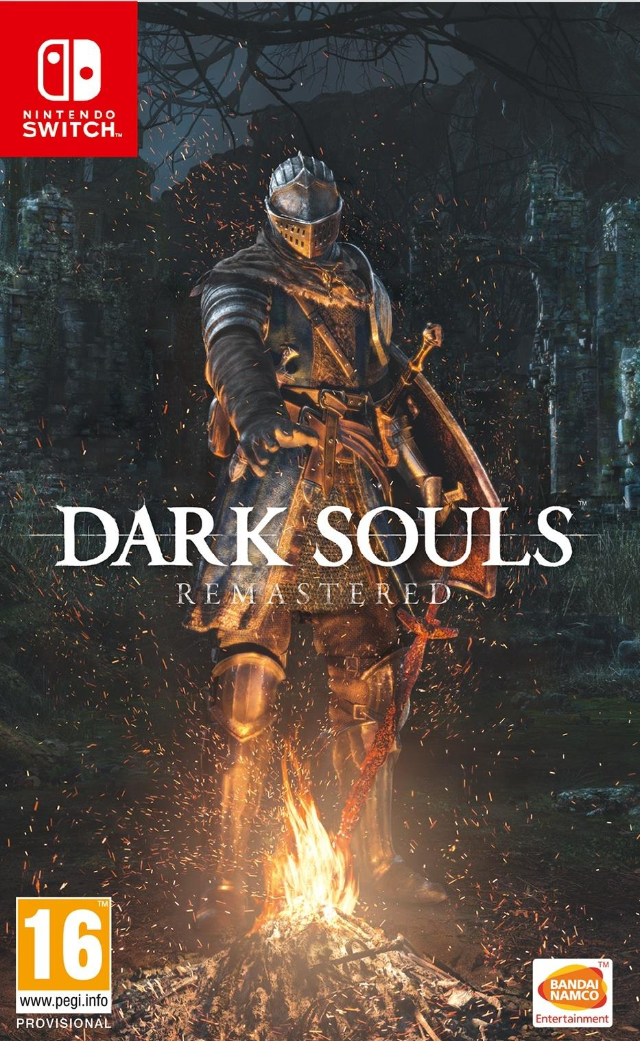 NINTENDO GAME NINTENDO SWITCH DARK SOULS REMASTERED