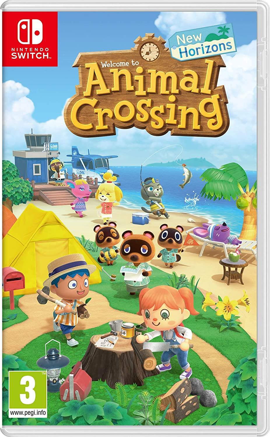 NINTENDO GAME NINTENDO SWITCH ANIMAL CROSSING NEW HORIZONS