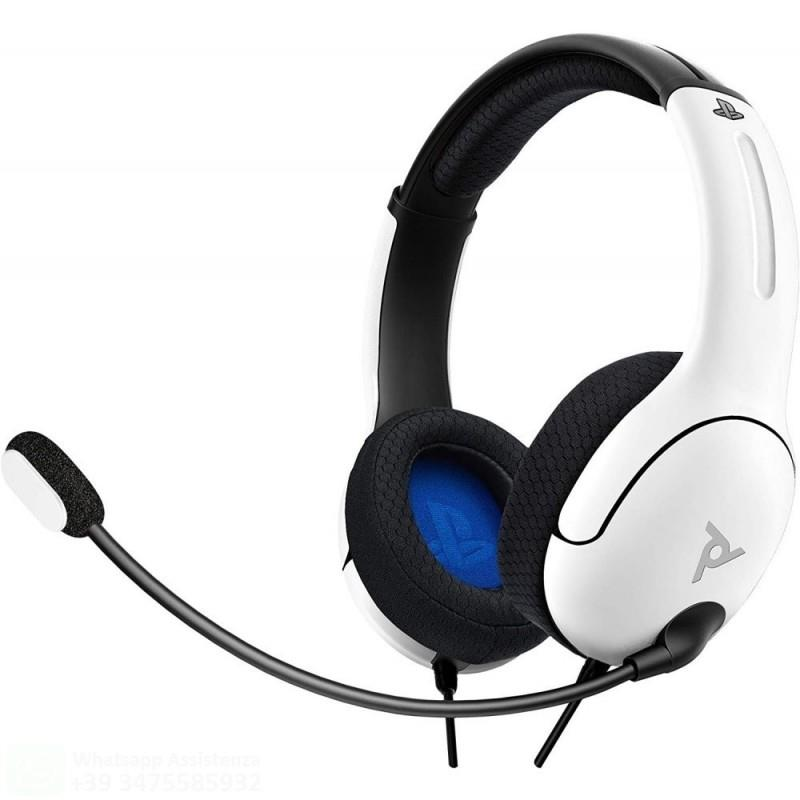 TECNO SHOP CUFFIE PDP LVL40 STEREO HEADSET FOR PS4/PS5 WHITE