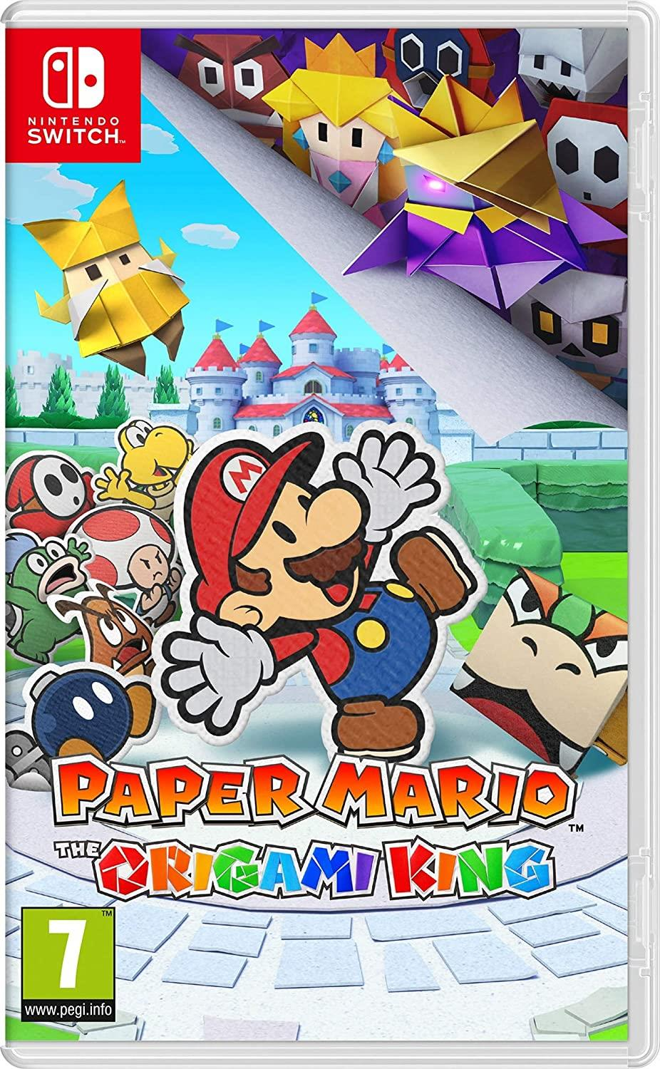 NINTENDO GAME NINTENDO SWITCH PAPER MARIO ORIGAMI KING