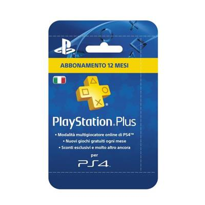 SONY RICARICHE PSN CARD PLAYSTATION PLUS HANG 365GG