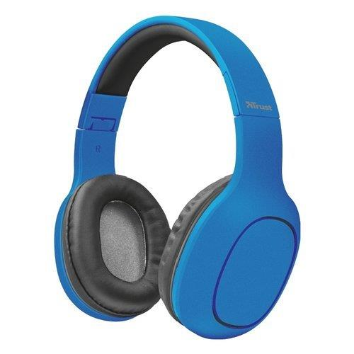 TRUST TRUST CUFFIA WIRELESS BLUE