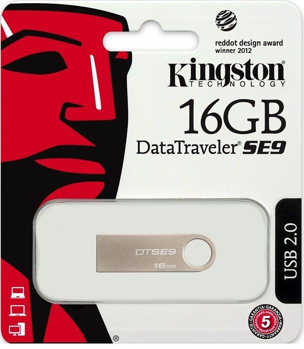 KINGSTON PEN DRIVE USB 16GB KINGSTON DTSE9H/16GB