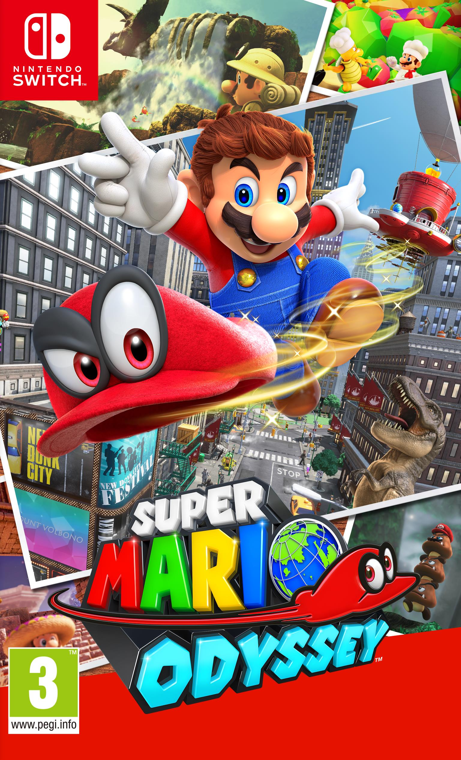 NINTENDO GAME NINTENDO SWITCH SUPER MARIO ODYSSEY