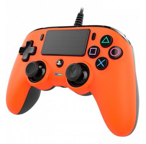 TECNO SHOP PAD PER PS4 WIRED ORNGE